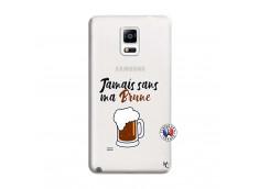 Coque Samsung Galaxy Note 4 Jamais Sans Ma Brune