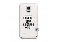Coque Samsung Galaxy Note 4 Je Dribble Comme Cristiano