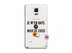 Coque Samsung Galaxy Note 4 Je m'en bats Les Noix De Coco