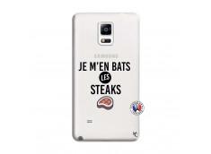 Coque Samsung Galaxy Note 4 Je M En Bas Les Steaks