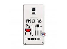 Coque Samsung Galaxy Note 4 Je Peux Pas J Ai Barbecue