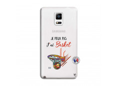 Coque Samsung Galaxy Note 4 Je Peux Pas J Ai Basket