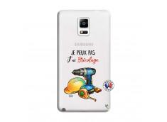Coque Samsung Galaxy Note 4 Je Peux Pas J Ai Bricolage