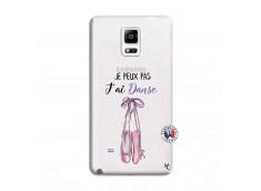 Coque Samsung Galaxy Note 4 Je peux pas j'ai danse