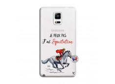 Coque Samsung Galaxy Note 4 Je Peux Pas J Ai Equitation