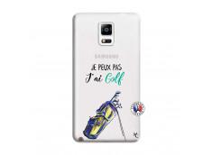 Coque Samsung Galaxy Note 4 Je Peux Pas J Ai Golf