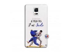 Coque Samsung Galaxy Note 4 Je peux pas j'ai Judo