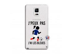 Coque Samsung Galaxy Note 4 Je Peux Pas J Ai Les Bleues Maillot