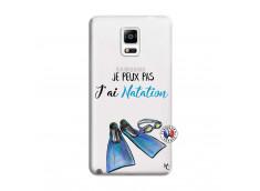 Coque Samsung Galaxy Note 4 Je Peux Pas J Ai Natation