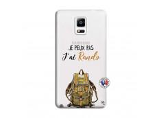 Coque Samsung Galaxy Note 4 Je Peux Pas J Ai Rando