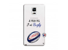 Coque Samsung Galaxy Note 4 Je Peux Pas J Ai Rugby