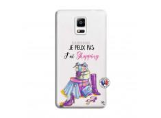 Coque Samsung Galaxy Note 4 Je Peux Pas J Ai Shopping