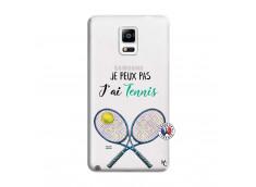 Coque Samsung Galaxy Note 4 Je Peux Pas J Ai Tennis