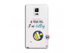 Coque Samsung Galaxy Note 4 Je Peux Pas J Ai Volley