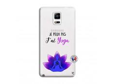 Coque Samsung Galaxy Note 4 Je Peux Pas J Ai Yoga