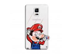 Coque Samsung Galaxy Note 4 Mario Impact