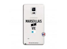 Coque Samsung Galaxy Note 4 Marseillais à Vie