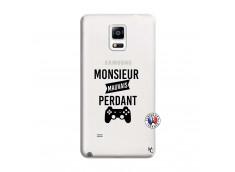 Coque Samsung Galaxy Note 4 Monsieur Mauvais Perdant