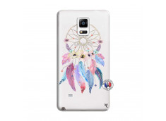 Coque Samsung Galaxy Note 4 Multicolor Watercolor Floral Dreamcatcher