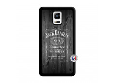 Coque Samsung Galaxy Note 4 Old Jack Noir