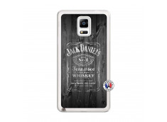 Coque Samsung Galaxy Note 4 Old Jack Translu