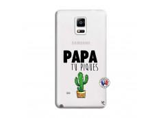 Coque Samsung Galaxy Note 4 Papa Tu Piques