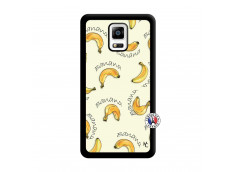 Coque Samsung Galaxy Note 4 Sorbet Banana Split Noir