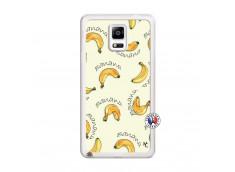 Coque Samsung Galaxy Note 4 Sorbet Banana Split Translu