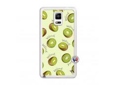 Coque Samsung Galaxy Note 4 Sorbet Kiwi Translu