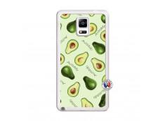 Coque Samsung Galaxy Note 4 Sorbet Avocat Translu