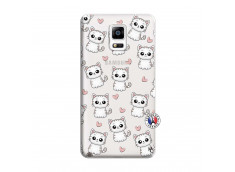 Coque Samsung Galaxy Note 4 Petits Chats