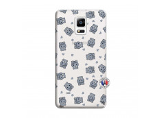 Coque Samsung Galaxy Note 4 Petits Hippos