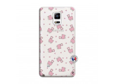 Coque Samsung Galaxy Note 4 Petits Moutons