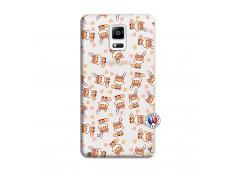 Coque Samsung Galaxy Note 4 Petits Renards