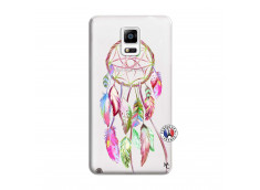 Coque Samsung Galaxy Note 4 Pink Painted Dreamcatcher