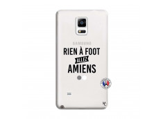 Coque Samsung Galaxy Note 4 Rien A Foot Allez Amiens
