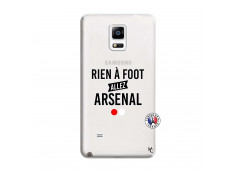 Coque Samsung Galaxy Note 4 Rien A Foot Allez Arsenal