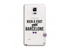 Coque Samsung Galaxy Note 4 Rien A Foot Allez Barcelone