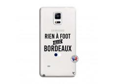 Coque Samsung Galaxy Note 4 Rien A Foot Allez Bordeaux