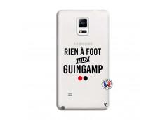 Coque Samsung Galaxy Note 4 Rien A Foot Allez Guingamp