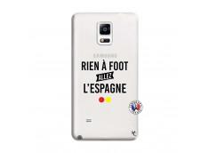 Coque Samsung Galaxy Note 4 Rien A Foot Allez L'Espagne