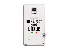 Coque Samsung Galaxy Note 4 Rien A Foot Allez L'Italie