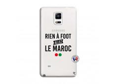 Coque Samsung Galaxy Note 4 Rien A Foot Allez Le Maroc