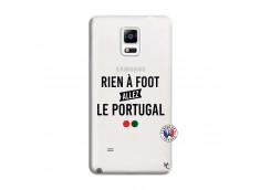 Coque Samsung Galaxy Note 4 Rien A Foot Allez Le Portugal