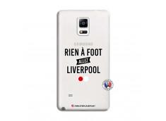 Coque Samsung Galaxy Note 4 Rien A Foot Allez Liverpool