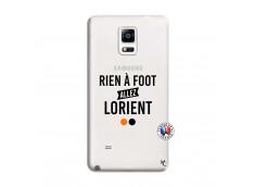 Coque Samsung Galaxy Note 4 Rien A Foot Allez Lorient