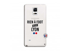 Coque Samsung Galaxy Note 4 Rien A Foot Allez Lyon