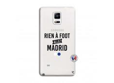 Coque Samsung Galaxy Note 4 Rien A Foot Allez Madrid