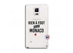 Coque Samsung Galaxy Note 4 Rien A Foot Allez Monaco