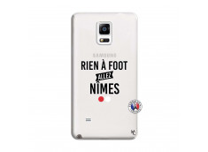 Coque Samsung Galaxy Note 4 Rien A Foot Allez Nimes